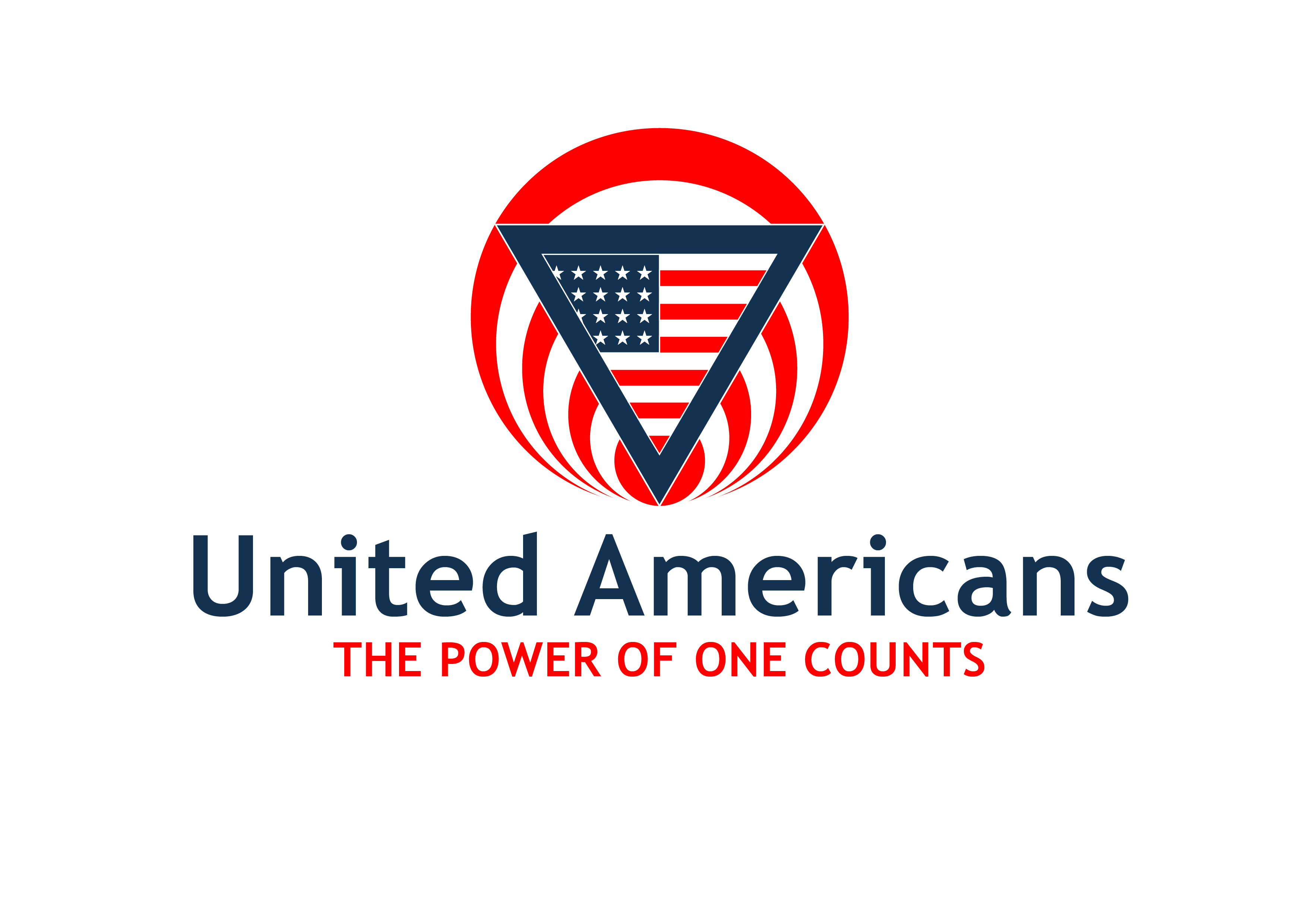 Logo Design by 3draw - Entry No. 55 in the Logo Design Contest Creative Logo Design for United Americans.