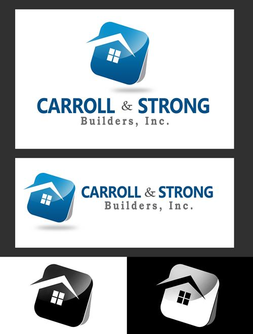 Logo Design by Respati Himawan - Entry No. 46 in the Logo Design Contest New Logo Design for Carroll & Strong Builders, Inc..