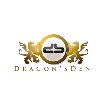 Logo Design by DINOO45 - Entry No. 29 in the Logo Design Contest The Dragons' Den needs a new logo.
