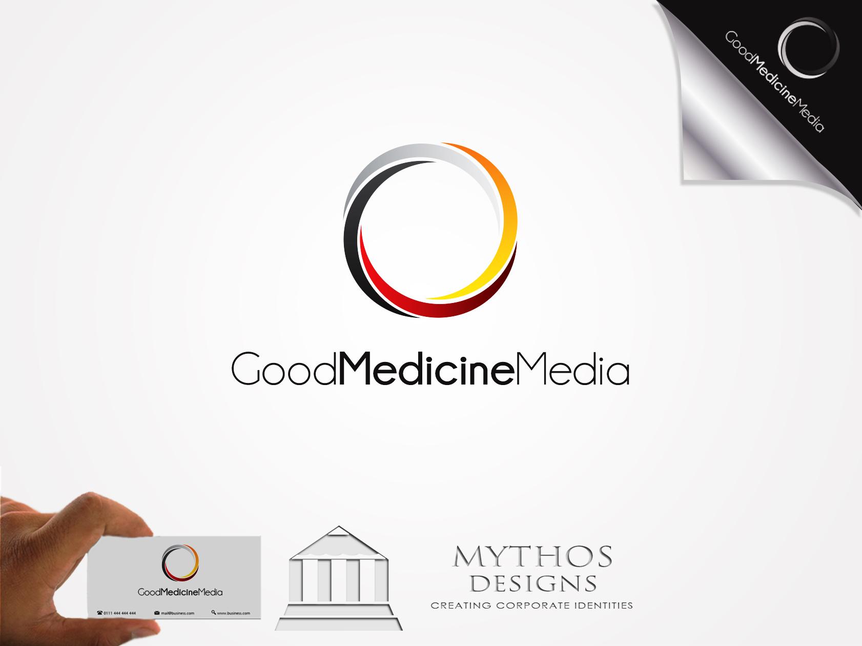 Logo Design by Mythos Designs - Entry No. 171 in the Logo Design Contest Good Medicine Media Logo Design.