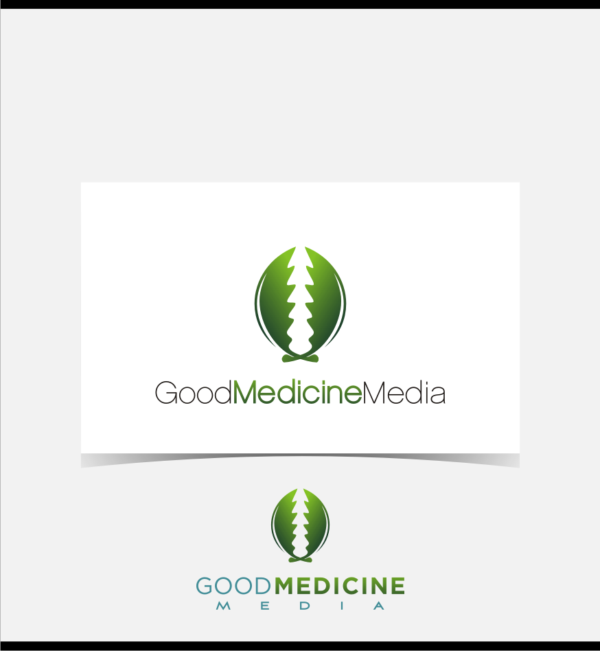 Logo Design by graphicleaf - Entry No. 184 in the Logo Design Contest Good Medicine Media Logo Design.