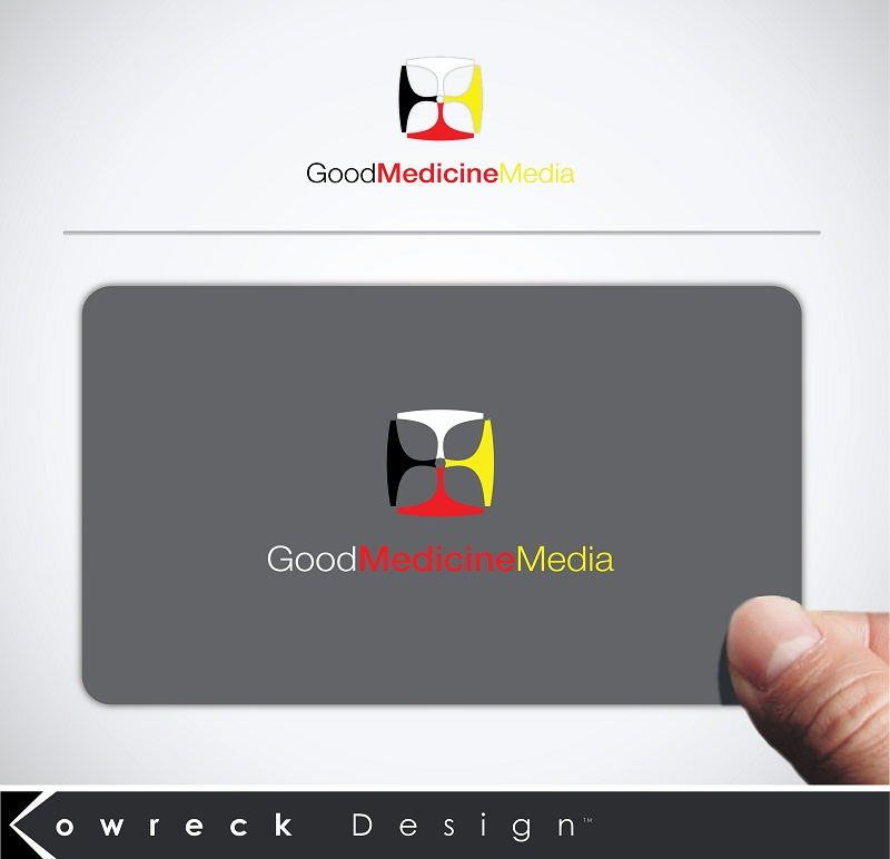 Logo Design by kowreck - Entry No. 188 in the Logo Design Contest Good Medicine Media Logo Design.