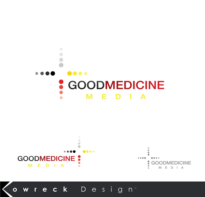 Logo Design by kowreck - Entry No. 192 in the Logo Design Contest Good Medicine Media Logo Design.