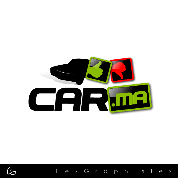 Logo Design by Les-Graphistes - Entry No. 71 in the Logo Design Contest New Logo Design for car.ma.