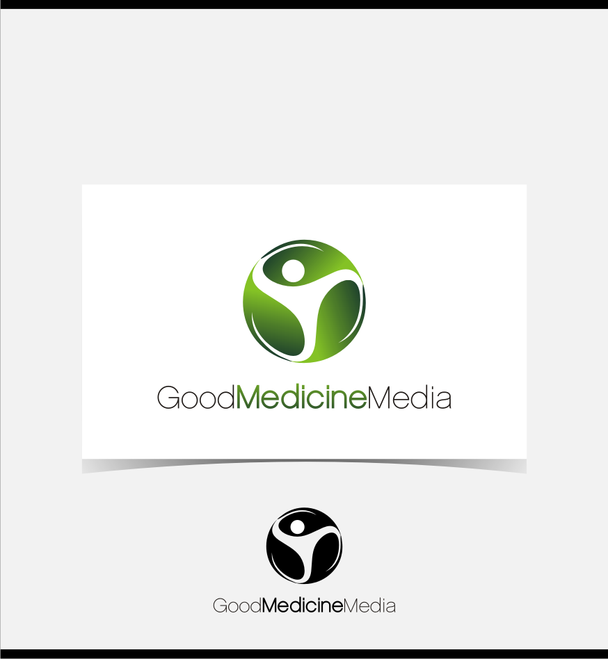 Logo Design by graphicleaf - Entry No. 193 in the Logo Design Contest Good Medicine Media Logo Design.