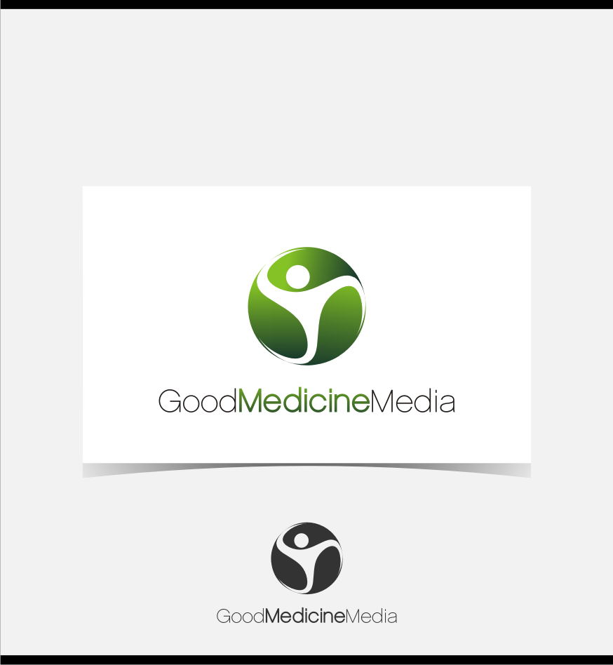 Logo Design by graphicleaf - Entry No. 194 in the Logo Design Contest Good Medicine Media Logo Design.