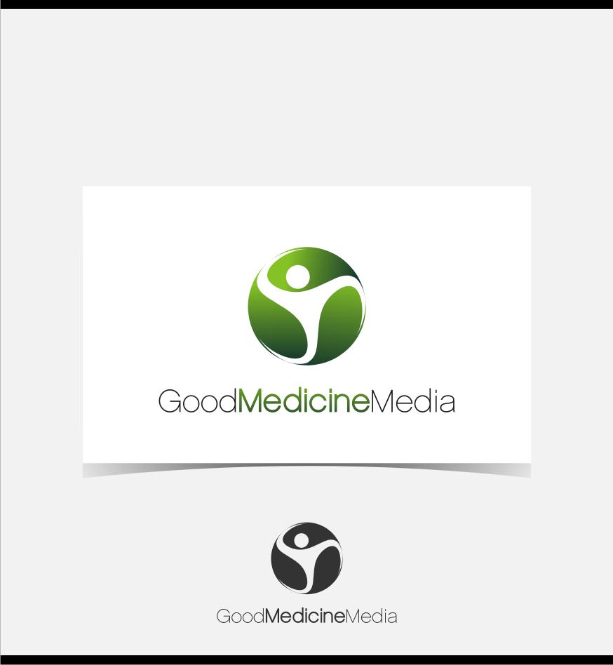 Logo Design by Muhammad Nasrul chasib - Entry No. 194 in the Logo Design Contest Good Medicine Media Logo Design.
