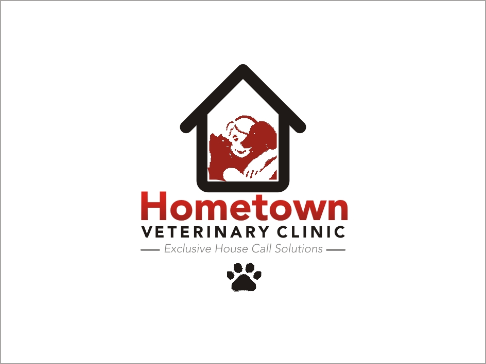 Logo Design by RED HORSE design studio - Entry No. 35 in the Logo Design Contest Captivating Logo Design for Hometown Veterinary Clinic.