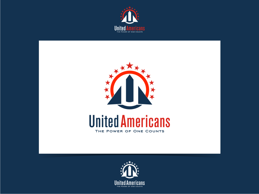 Logo Design by graphicleaf - Entry No. 60 in the Logo Design Contest Creative Logo Design for United Americans.