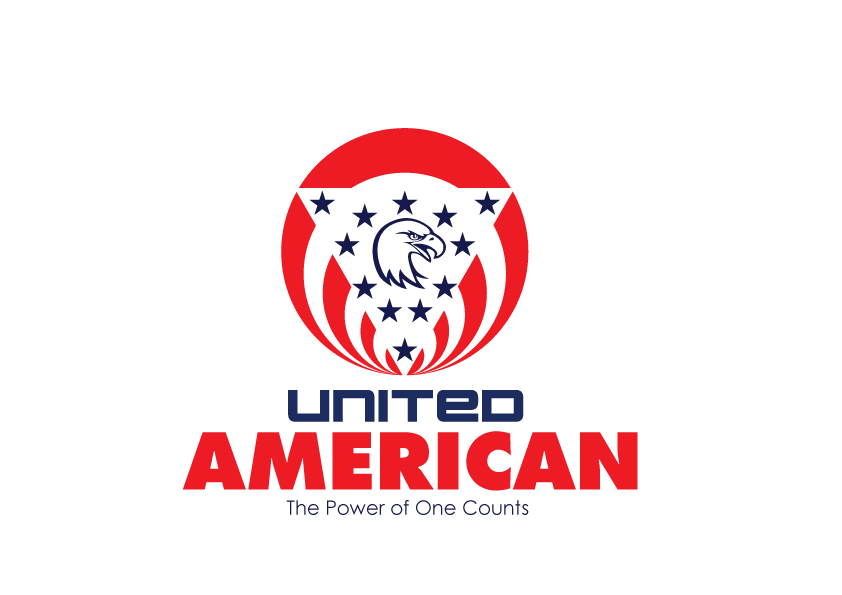 Logo Design by Severiano Fernandes - Entry No. 61 in the Logo Design Contest Creative Logo Design for United Americans.