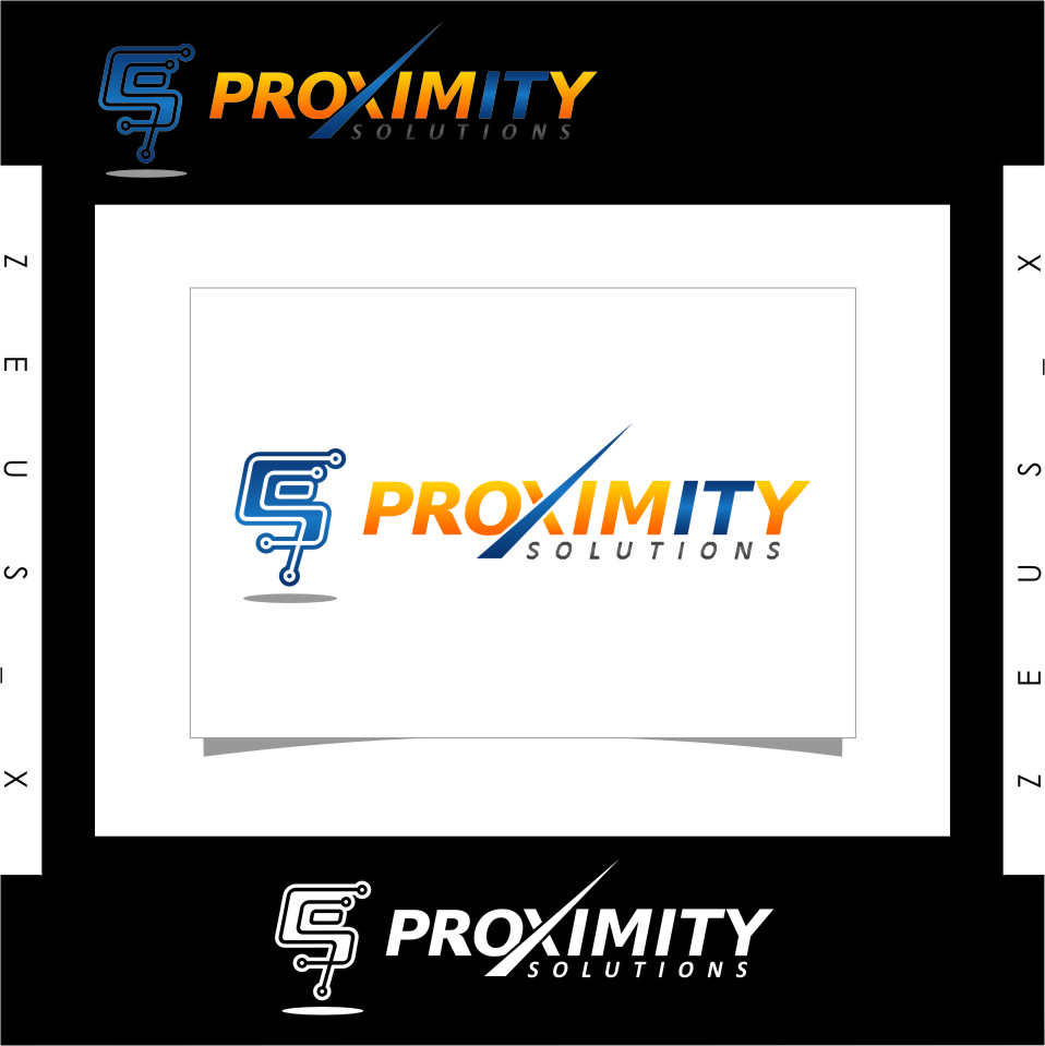 Logo Design by RasYa Muhammad Athaya - Entry No. 121 in the Logo Design Contest New Logo Design for Proximity Solutions.