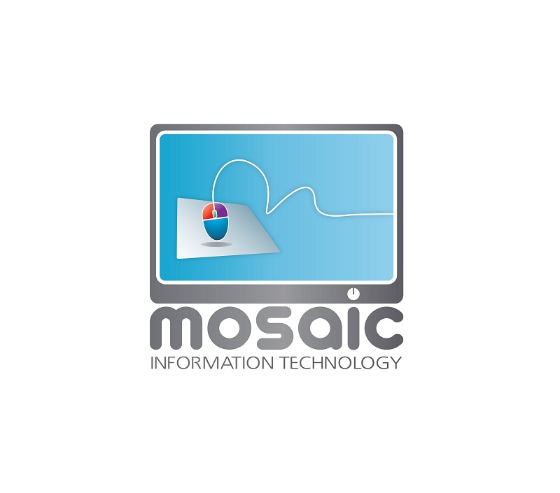 Logo Design by kowreck - Entry No. 46 in the Logo Design Contest Mosaic Information Technology Logo Design.