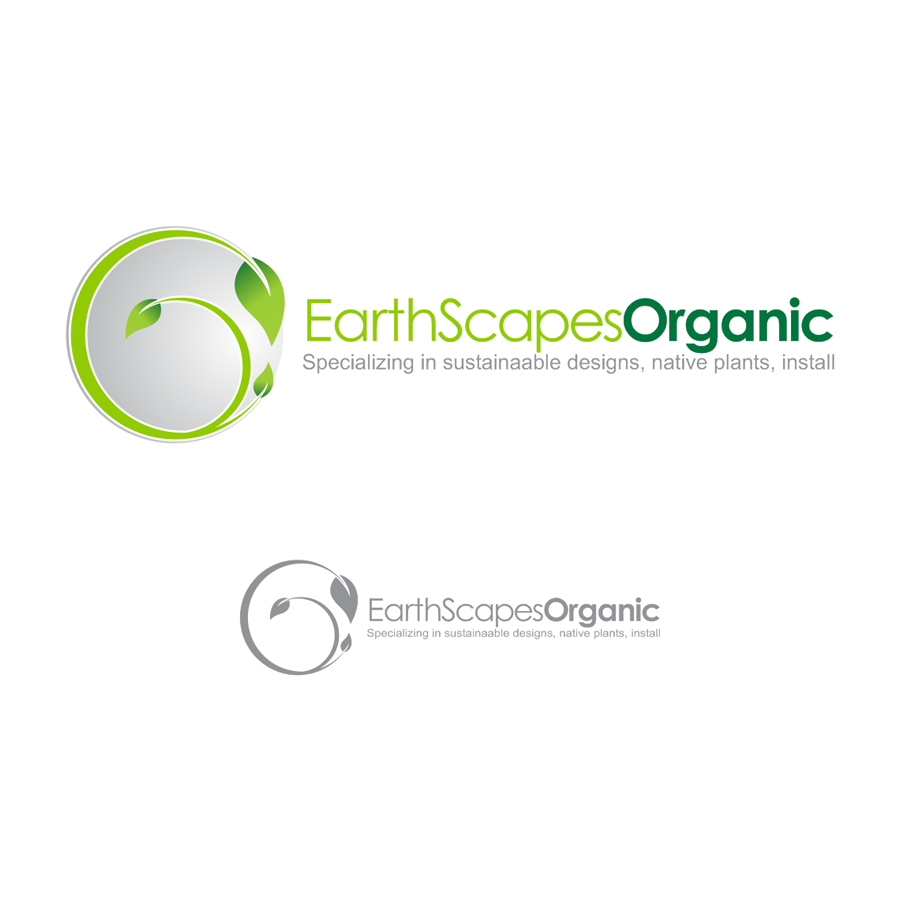 Logo Design by LukeConcept - Entry No. 43 in the Logo Design Contest Earthscapes Organic.