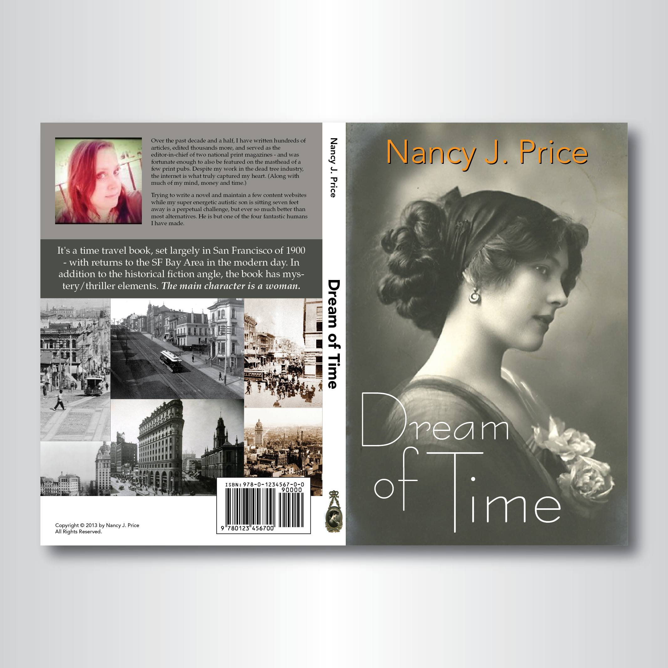 Book Cover Design by darkobovan - Entry No. 2 in the Book Cover Design Contest Fun Book Cover Design for Dream of Time.