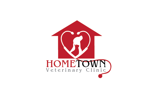 Logo Design by Private User - Entry No. 39 in the Logo Design Contest Captivating Logo Design for Hometown Veterinary Clinic.