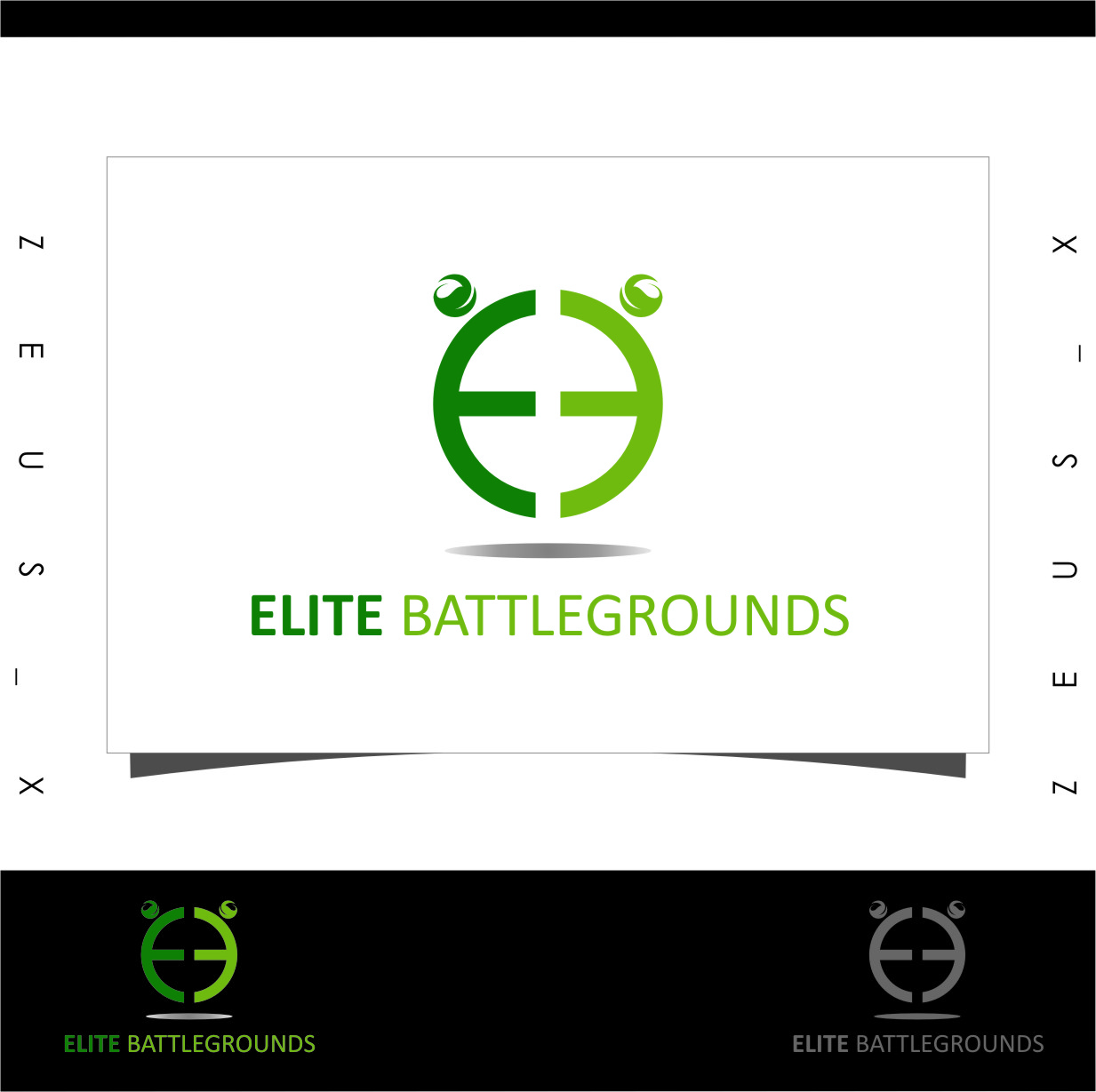 Logo Design by Ngepet_art - Entry No. 75 in the Logo Design Contest Creative Logo Design for Elite Battlegrounds.