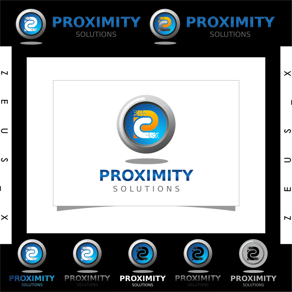 Logo Design by RasYa Muhammad Athaya - Entry No. 126 in the Logo Design Contest New Logo Design for Proximity Solutions.