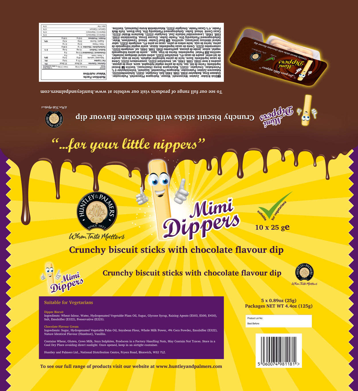 Packaging Design by Emad A Zyed - Entry No. 40 in the Packaging Design Contest Inspiring Packaging Design for Lil' Dippers.