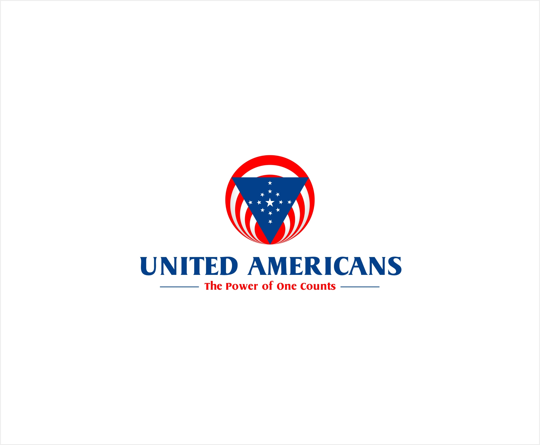 Logo Design by haidu - Entry No. 69 in the Logo Design Contest Creative Logo Design for United Americans.
