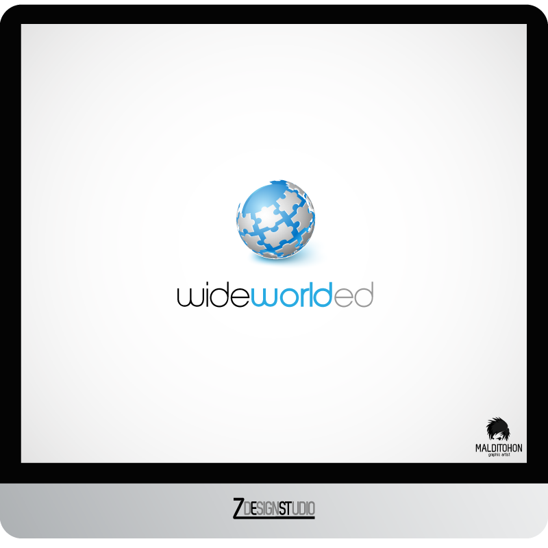 Logo Design by zesthar - Entry No. 34 in the Logo Design Contest New Logo Design for Wide World Ed.