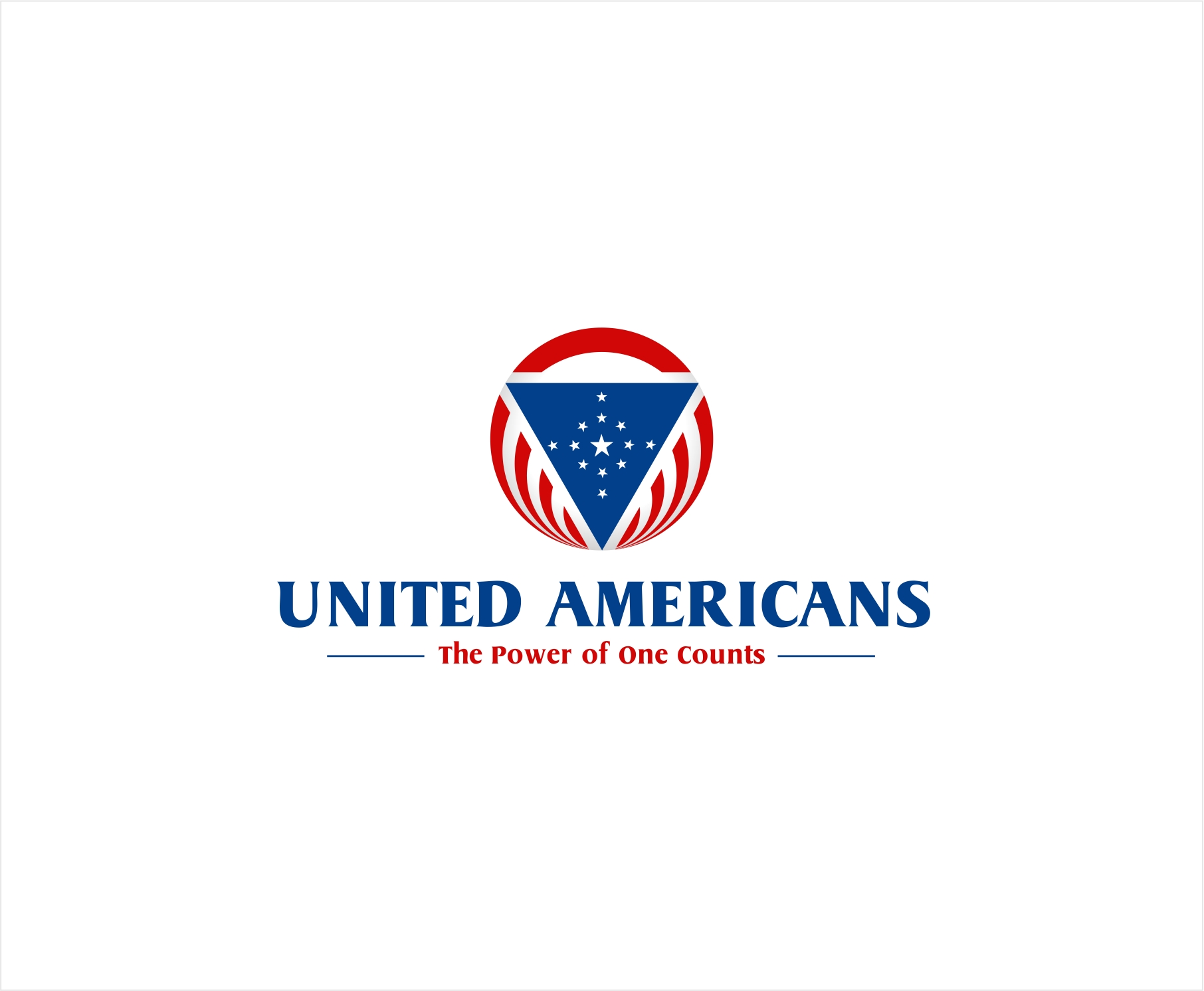 Logo Design by haidu - Entry No. 70 in the Logo Design Contest Creative Logo Design for United Americans.
