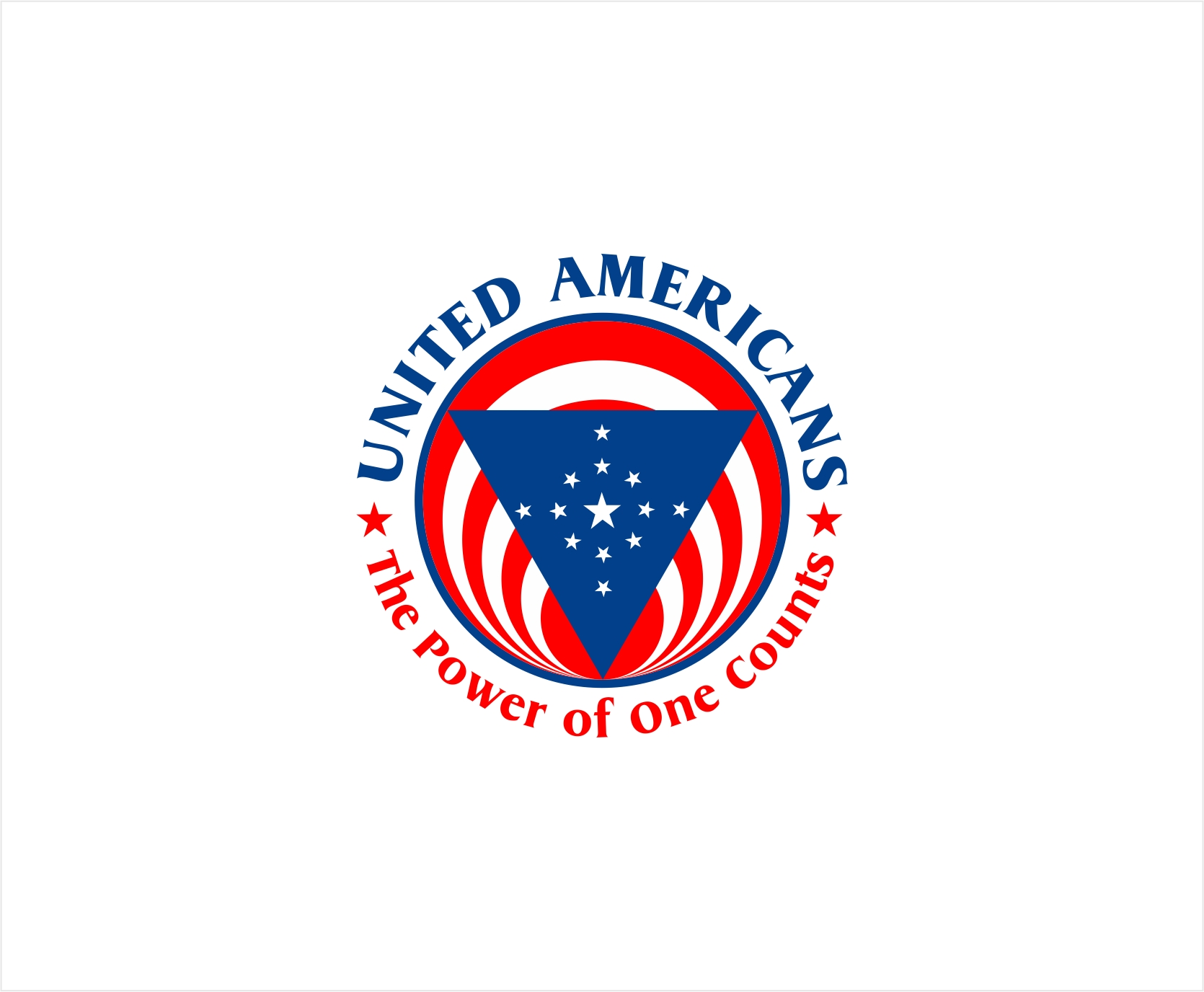 Logo Design by haidu - Entry No. 71 in the Logo Design Contest Creative Logo Design for United Americans.