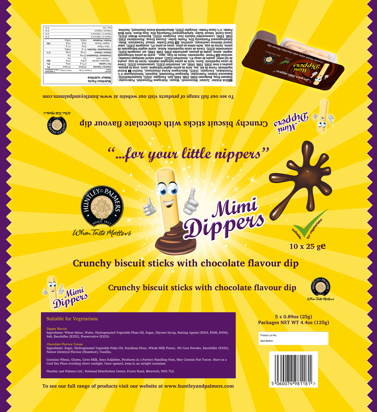 Packaging Design by Emad A Zyed - Entry No. 41 in the Packaging Design Contest Inspiring Packaging Design for Lil' Dippers.