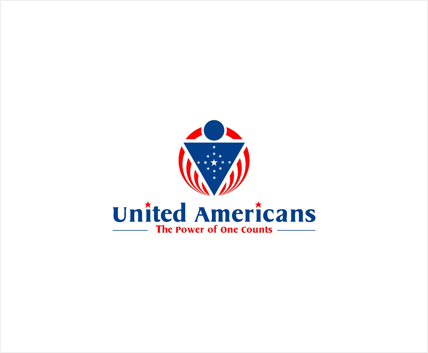 Logo Design by haidu - Entry No. 73 in the Logo Design Contest Creative Logo Design for United Americans.