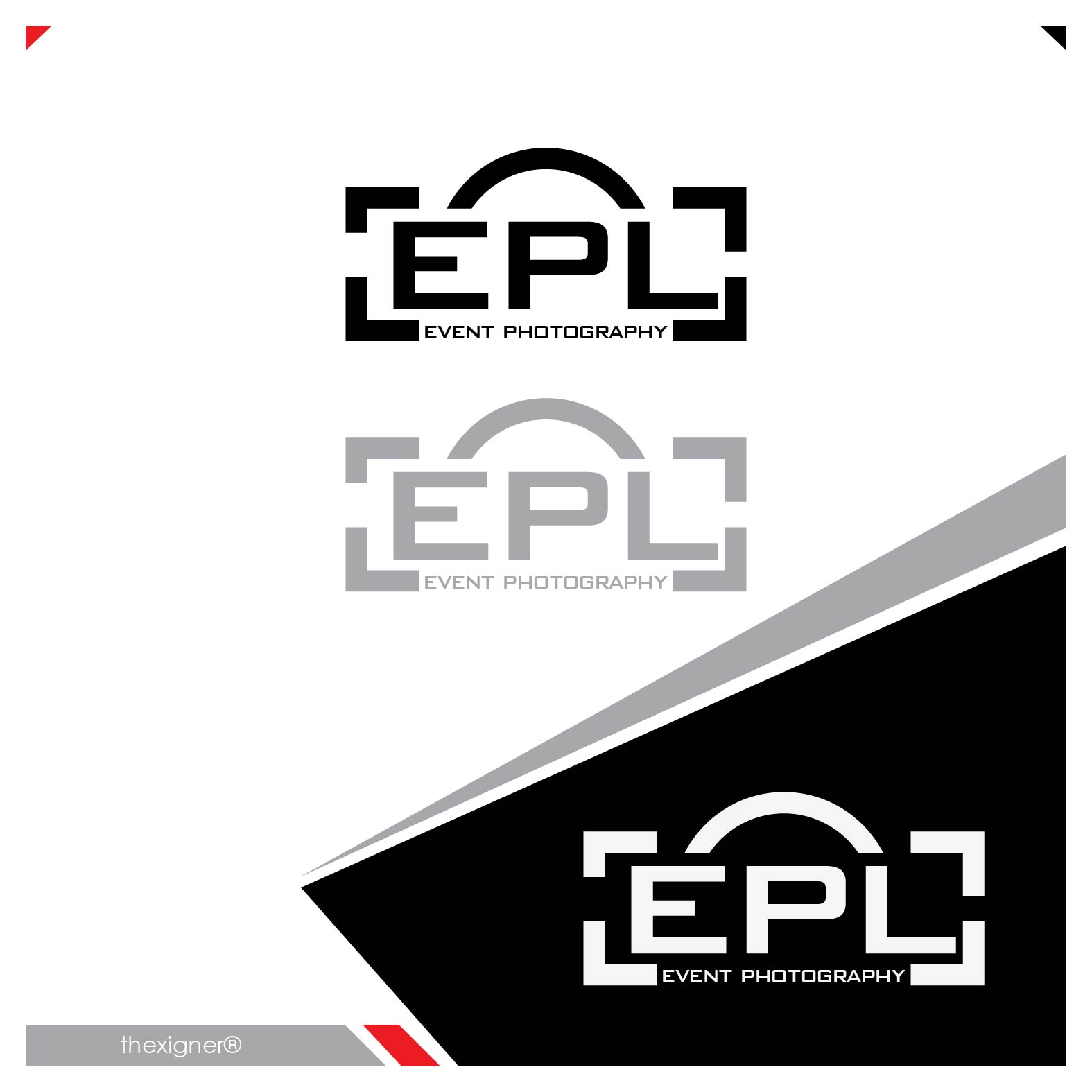 Logo Design by lagalag - Entry No. 17 in the Logo Design Contest New Logo Design for EPL Event Photography.