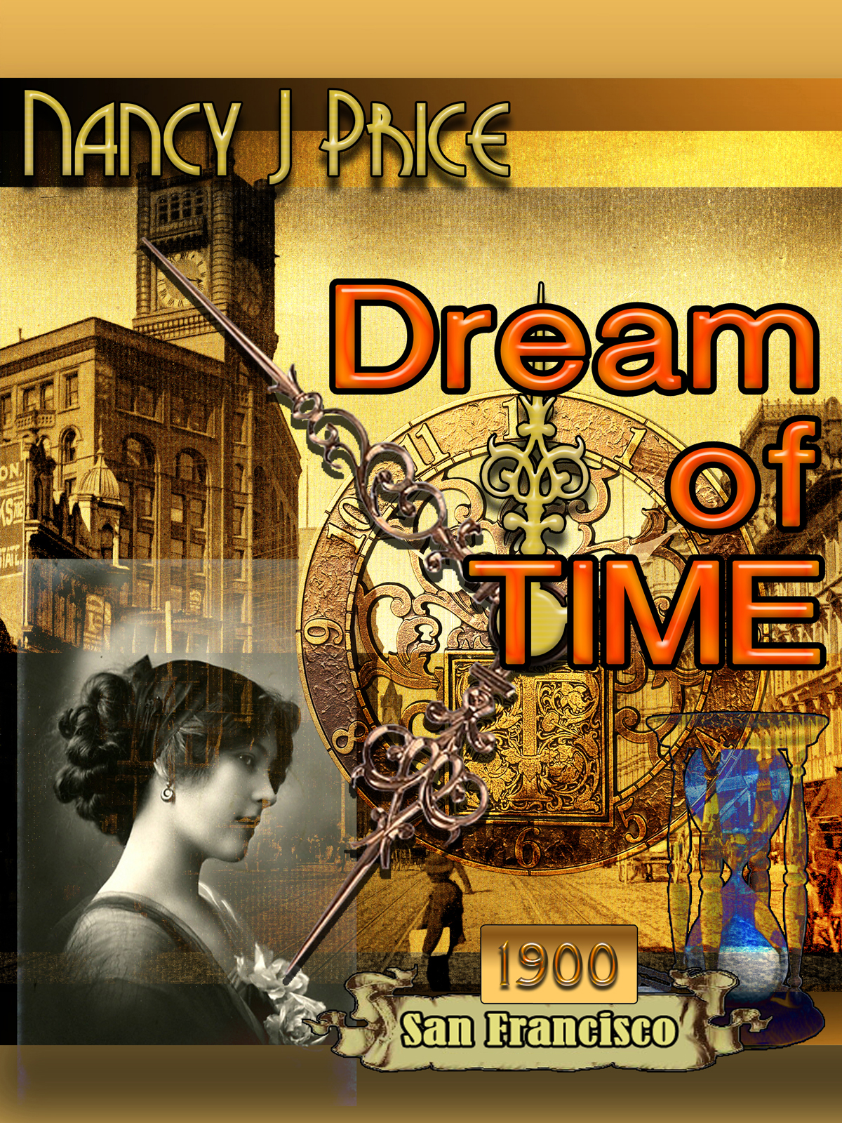 Book Cover Design by MITUCA ANDREI - Entry No. 8 in the Book Cover Design Contest Fun Book Cover Design for Dream of Time.