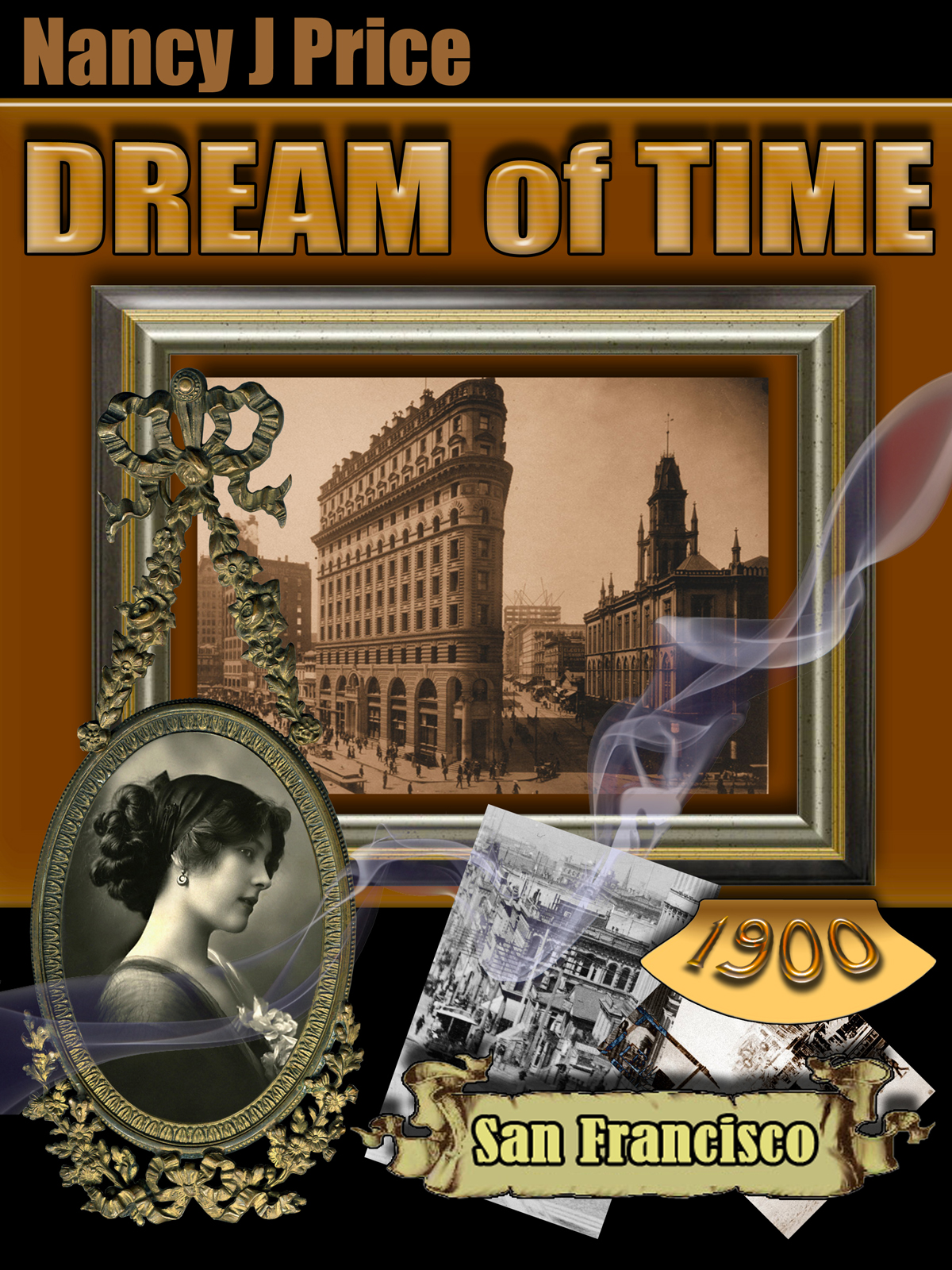 Book Cover Design by MITUCA ANDREI - Entry No. 10 in the Book Cover Design Contest Fun Book Cover Design for Dream of Time.