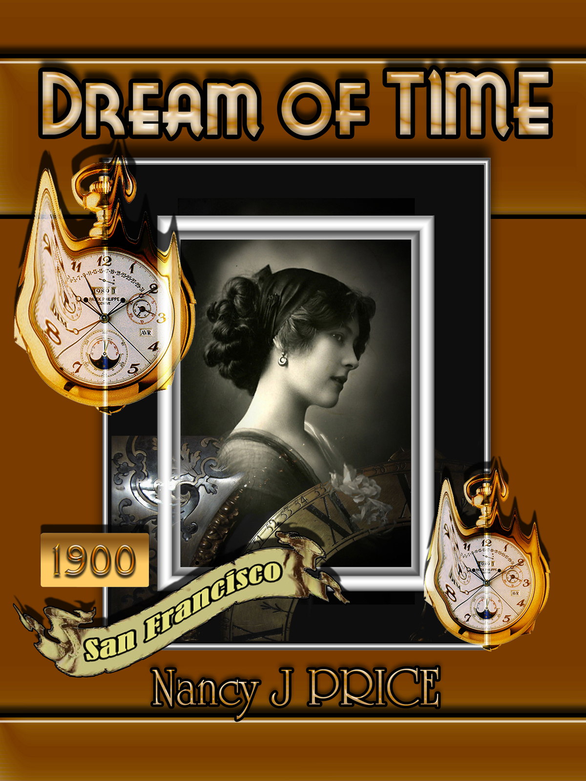 Book Cover Design by MITUCA ANDREI - Entry No. 11 in the Book Cover Design Contest Fun Book Cover Design for Dream of Time.