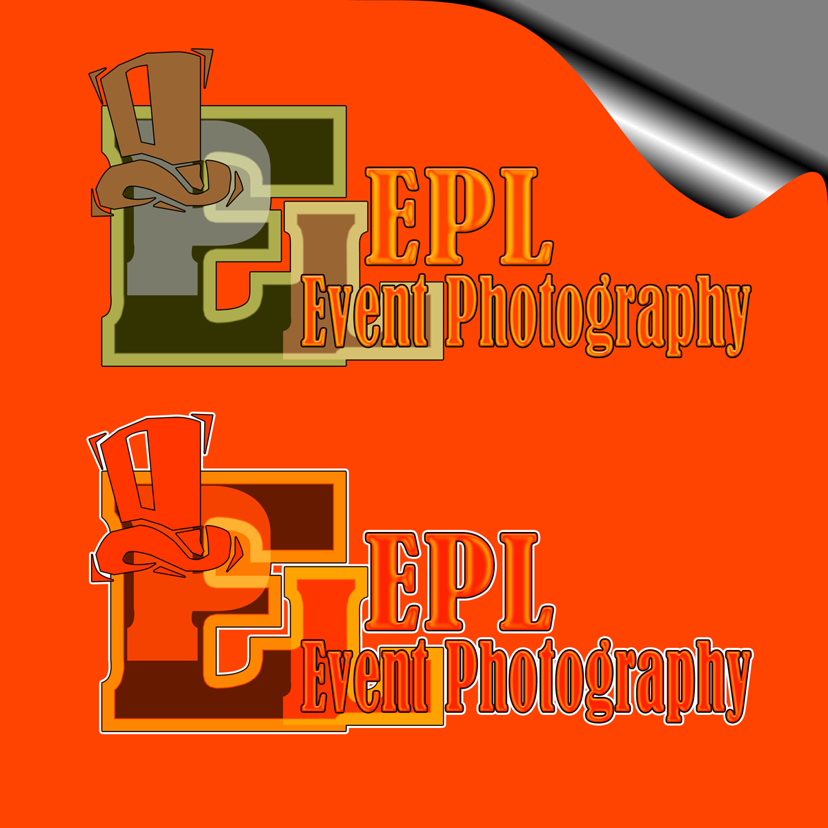 Logo Design by MITUCA ANDREI - Entry No. 23 in the Logo Design Contest New Logo Design for EPL Event Photography.