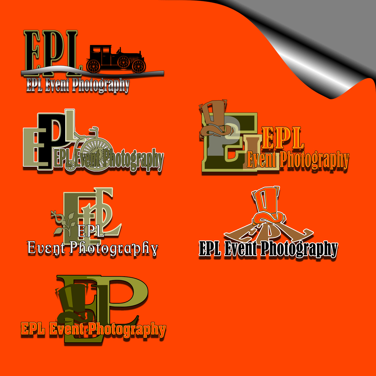 Logo Design by MITUCA ANDREI - Entry No. 25 in the Logo Design Contest New Logo Design for EPL Event Photography.