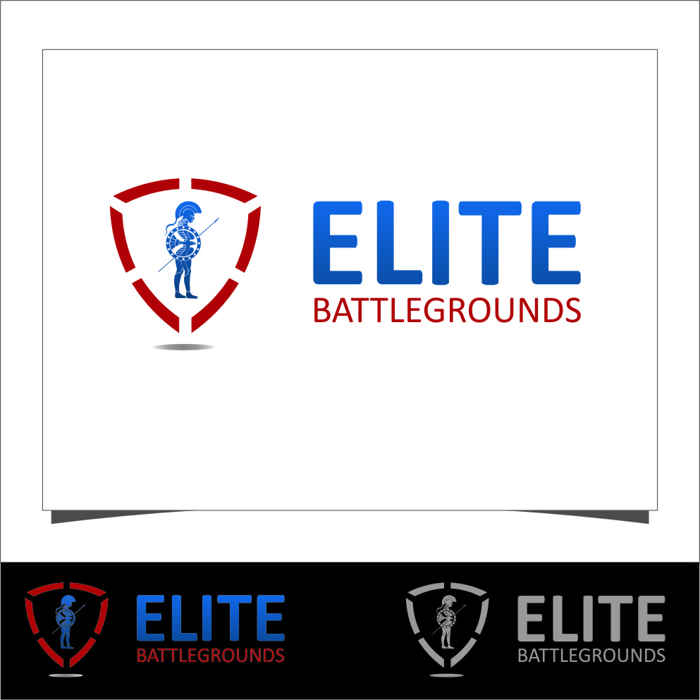 Logo Design by RasYa Muhammad Athaya - Entry No. 86 in the Logo Design Contest Creative Logo Design for Elite Battlegrounds.