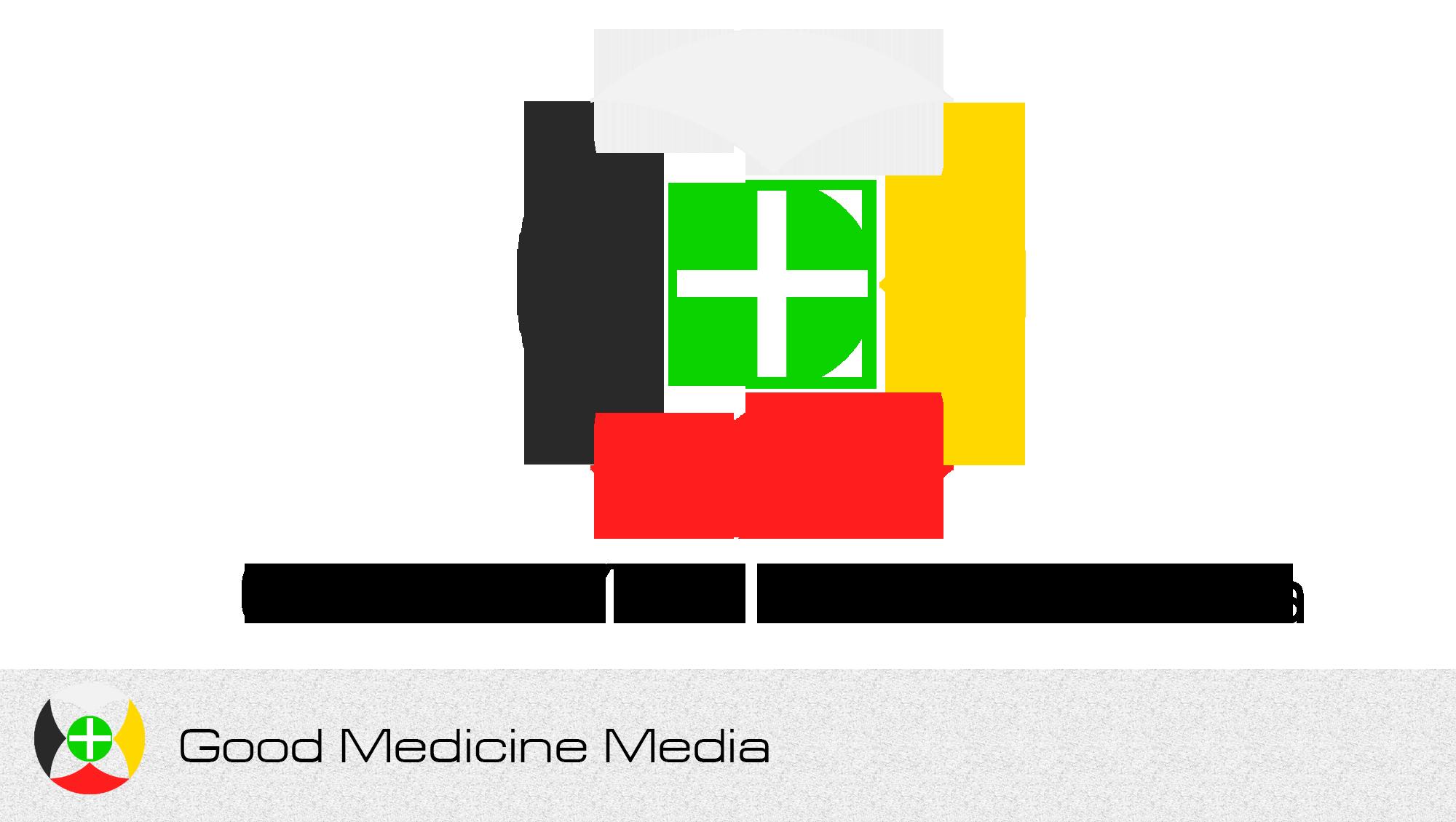 Logo Design by Private User - Entry No. 201 in the Logo Design Contest Good Medicine Media Logo Design.
