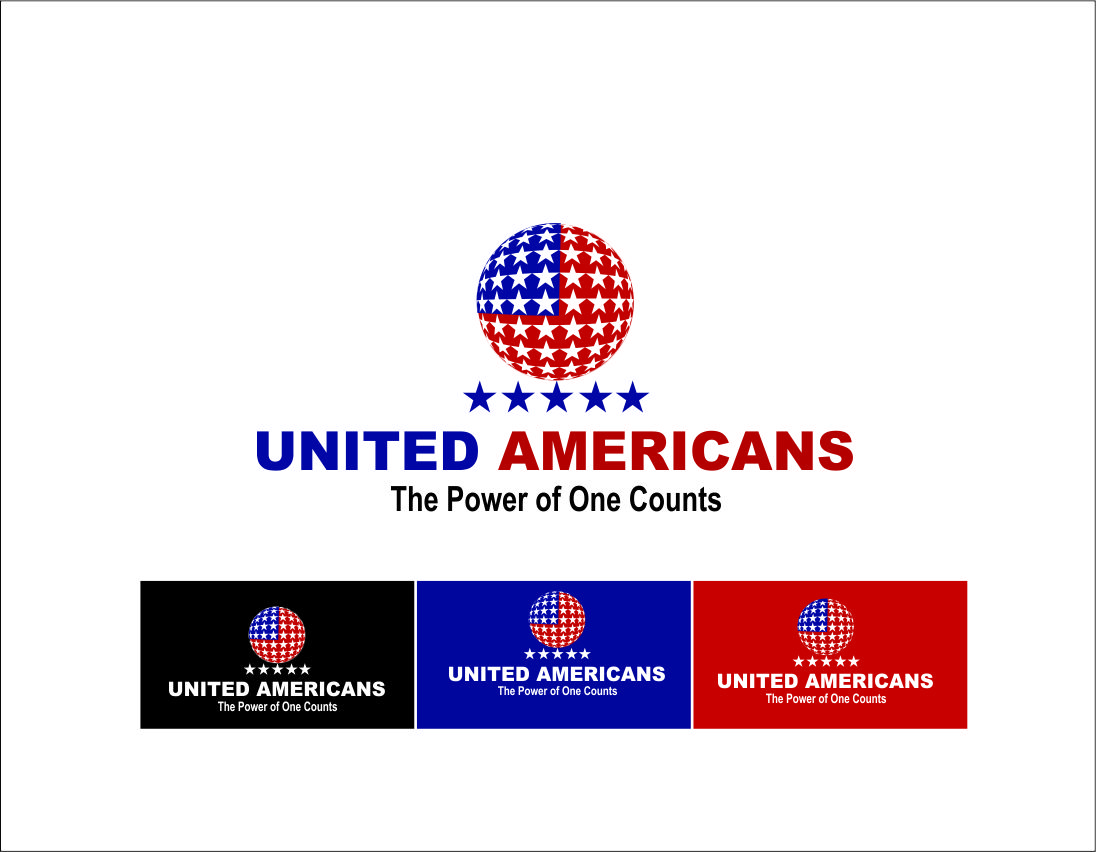 Logo Design by Agus Martoyo - Entry No. 78 in the Logo Design Contest Creative Logo Design for United Americans.