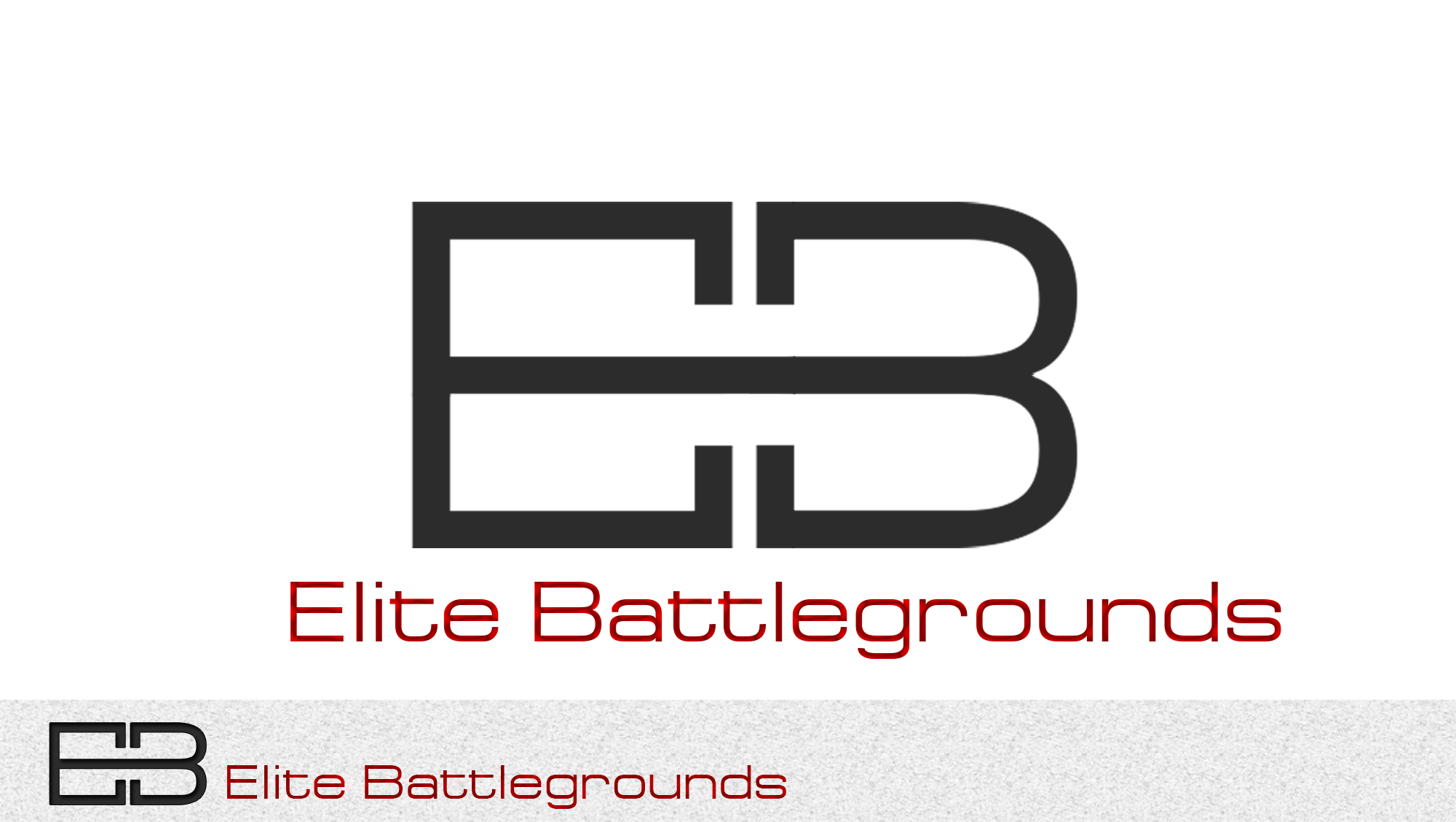 Logo Design by Private User - Entry No. 87 in the Logo Design Contest Creative Logo Design for Elite Battlegrounds.