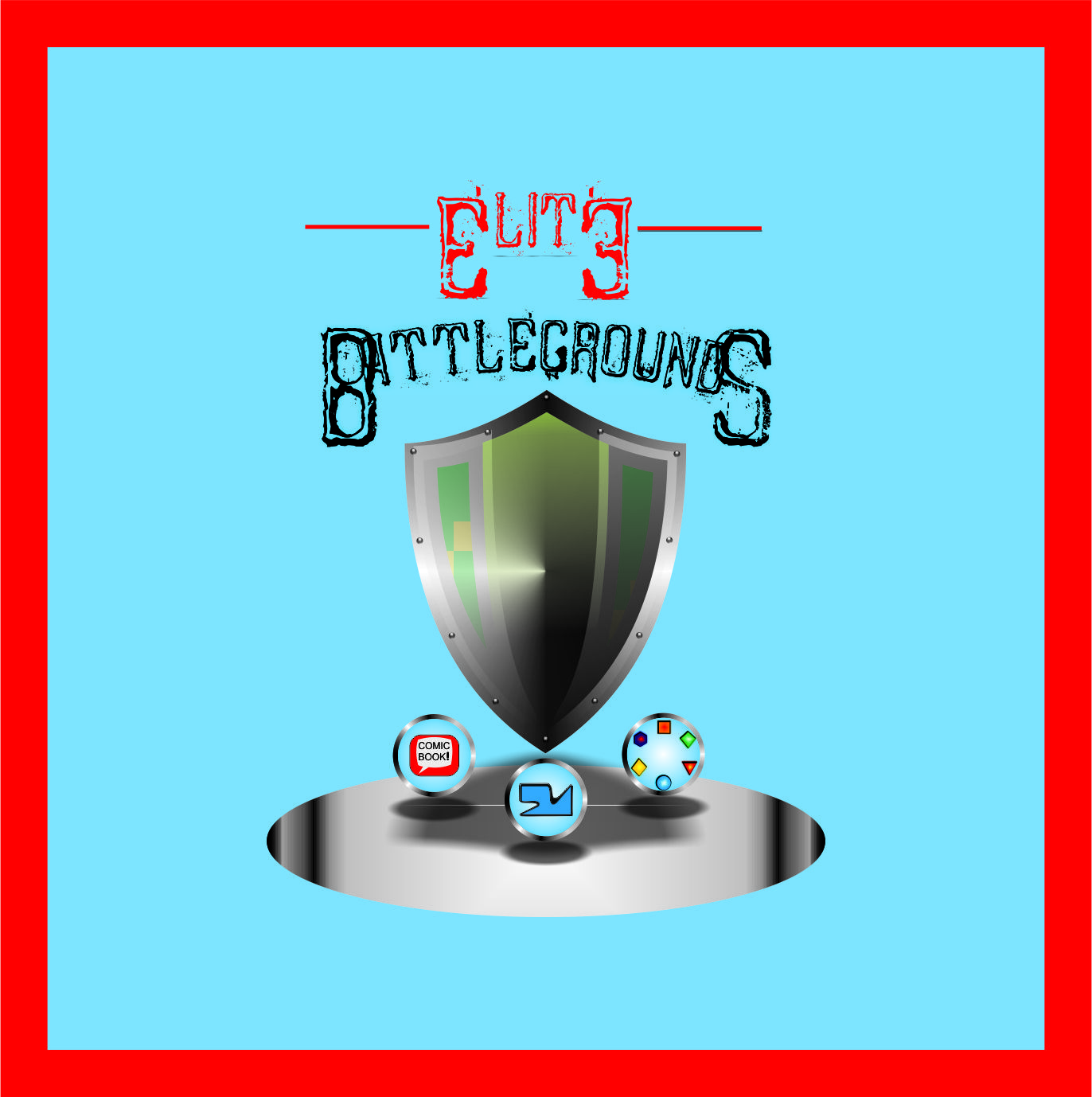 Logo Design by Teguh Hanuraga - Entry No. 88 in the Logo Design Contest Creative Logo Design for Elite Battlegrounds.