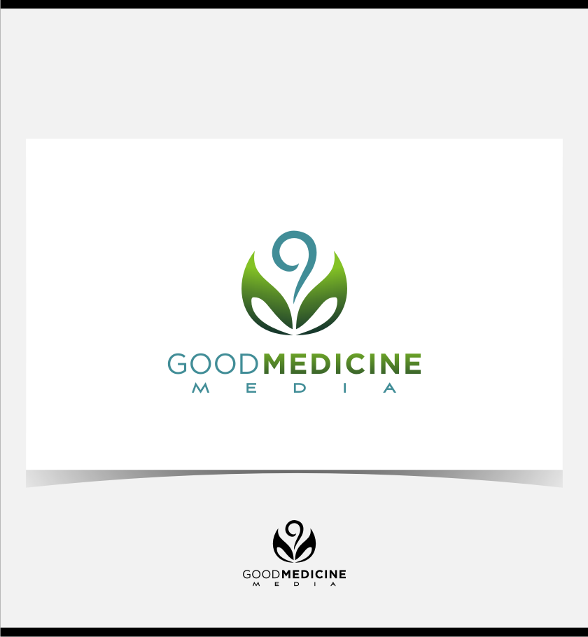 Logo Design by graphicleaf - Entry No. 202 in the Logo Design Contest Good Medicine Media Logo Design.