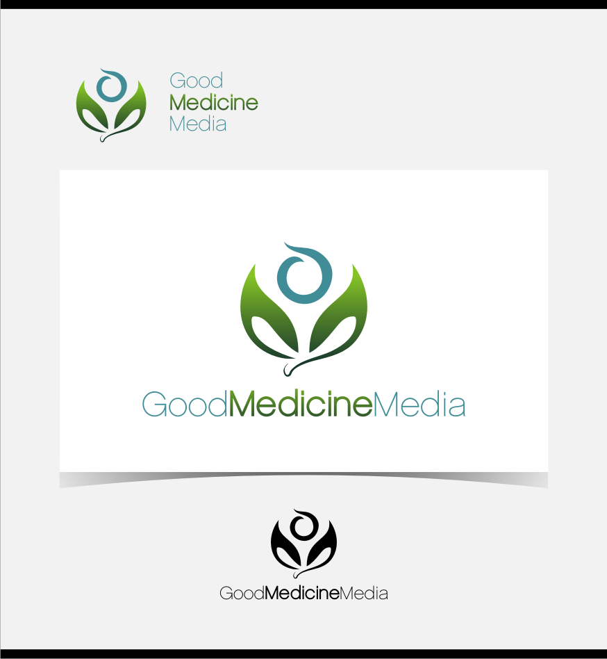 Logo Design by graphicleaf - Entry No. 203 in the Logo Design Contest Good Medicine Media Logo Design.