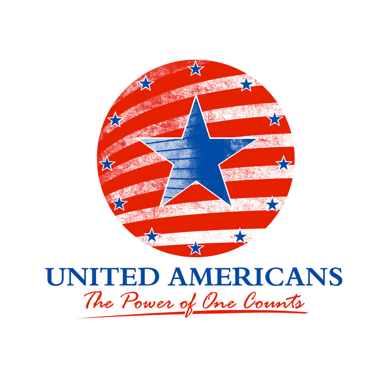 Logo Design by Robert Turla - Entry No. 82 in the Logo Design Contest Creative Logo Design for United Americans.