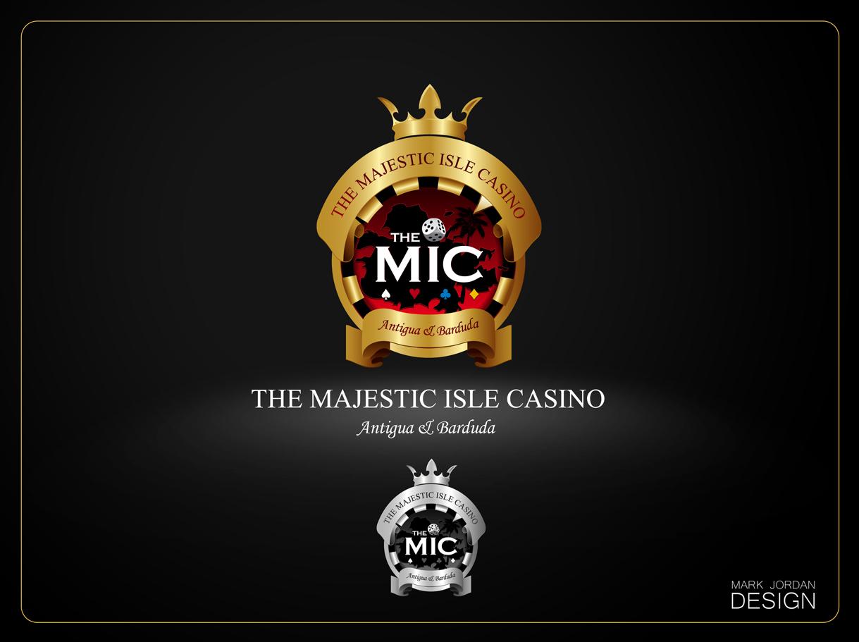 Logo Design by Mark Anthony Moreto Jordan - Entry No. 17 in the Logo Design Contest New Logo Design for The Majestic Isle Casino.
