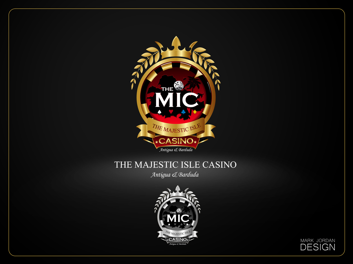 Logo Design by Mark Anthony Moreto Jordan - Entry No. 18 in the Logo Design Contest New Logo Design for The Majestic Isle Casino.