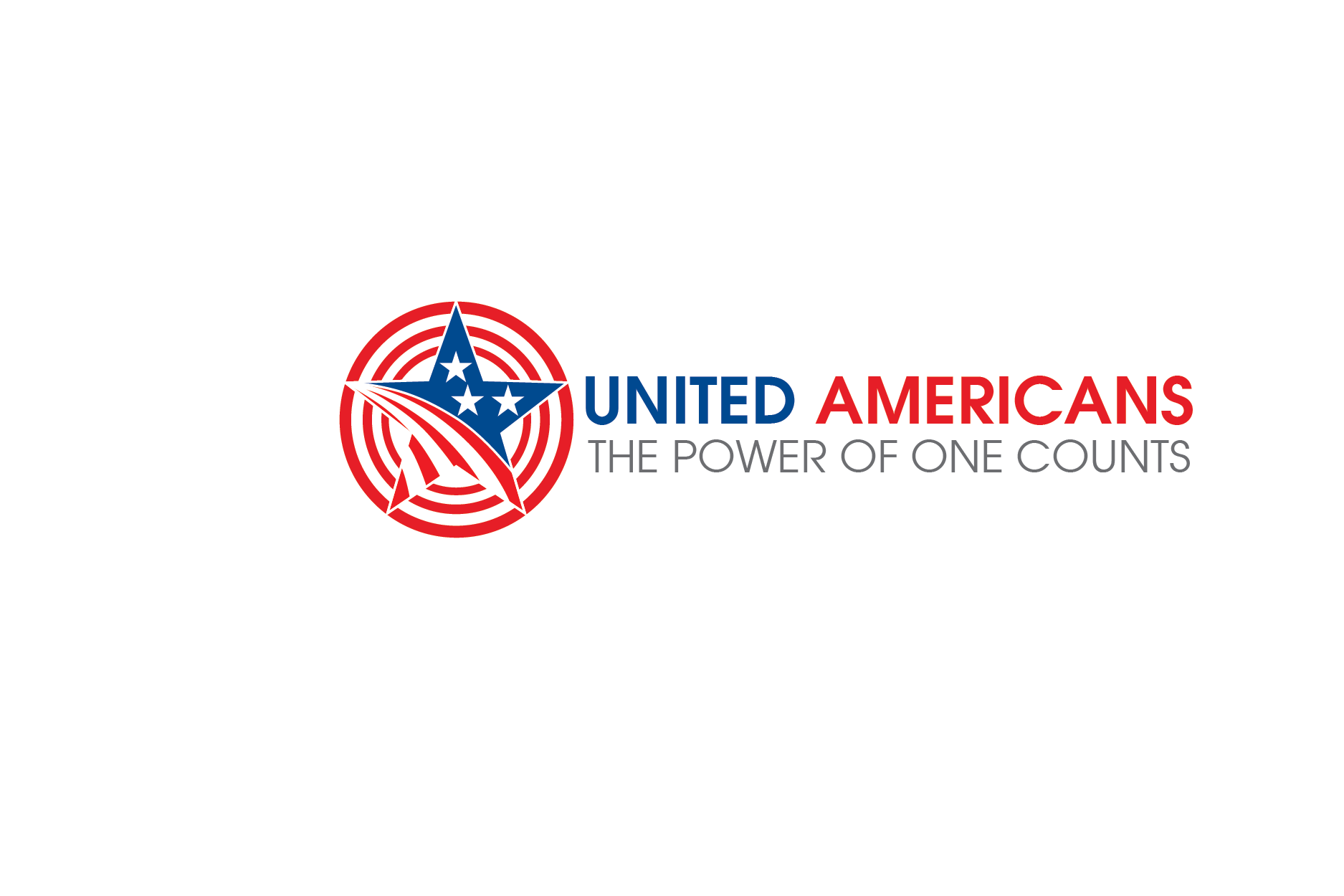 Logo Design by Private User - Entry No. 90 in the Logo Design Contest Creative Logo Design for United Americans.