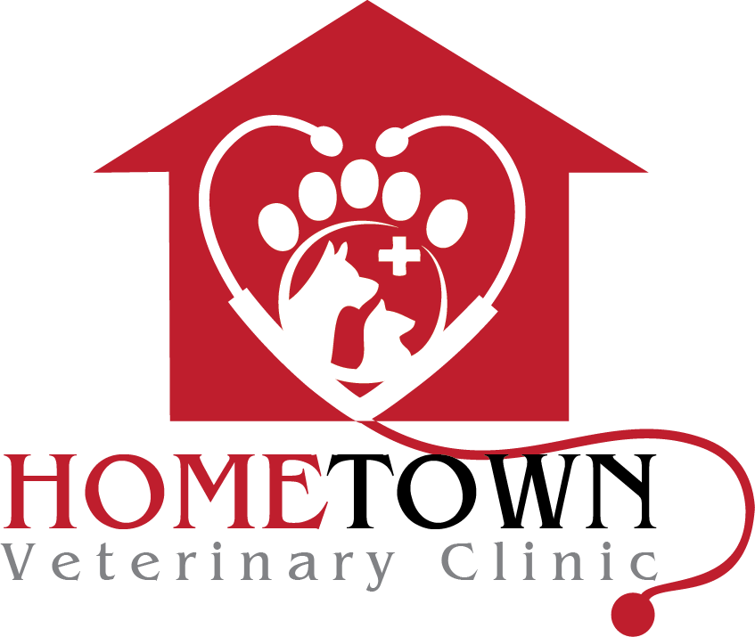 Logo Design by Private User - Entry No. 45 in the Logo Design Contest Captivating Logo Design for Hometown Veterinary Clinic.