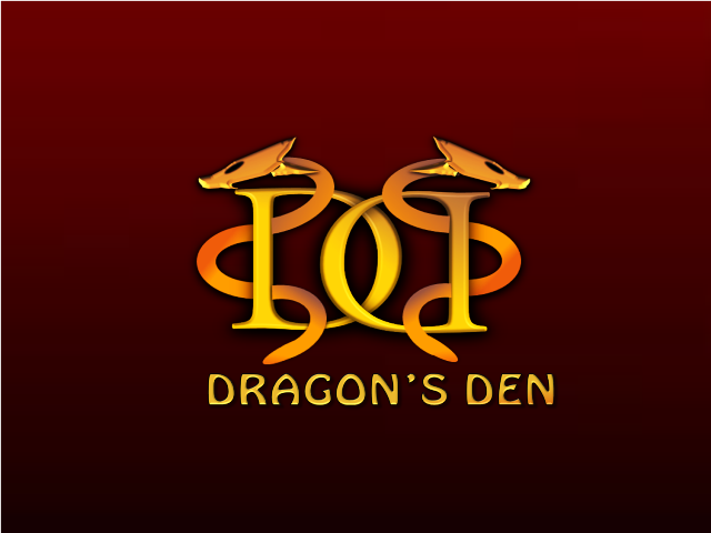 Logo Design by openartposter - Entry No. 34 in the Logo Design Contest The Dragons' Den needs a new logo.
