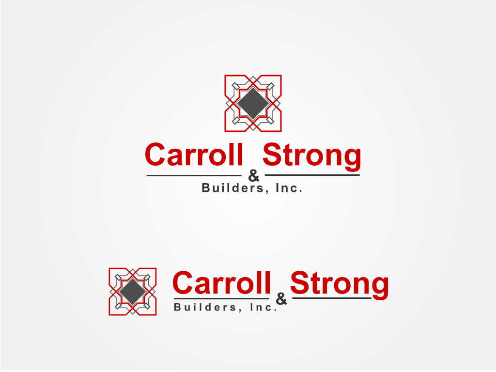 Logo Design by Jagdeep Singh - Entry No. 51 in the Logo Design Contest New Logo Design for Carroll & Strong Builders, Inc..