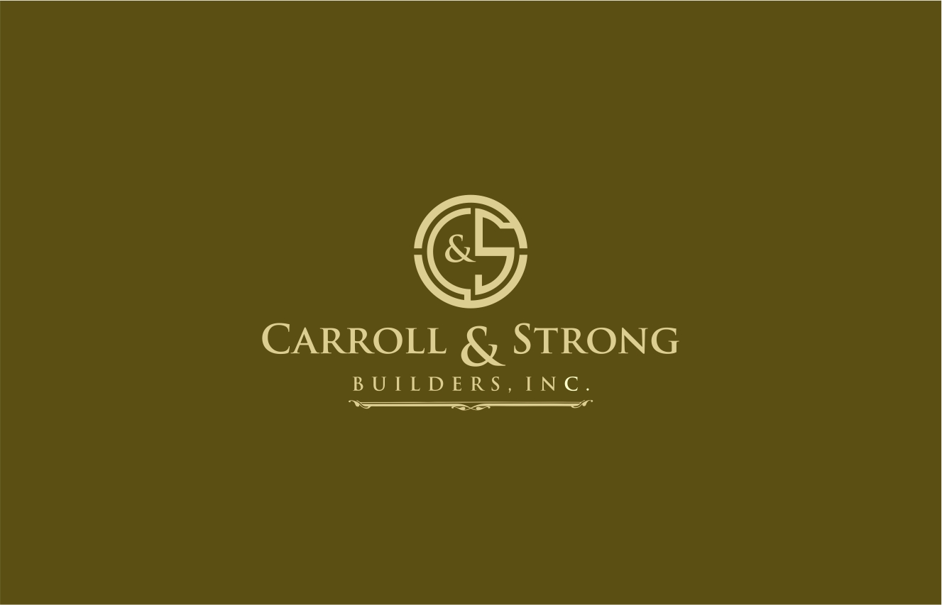 Logo Design by haidu - Entry No. 52 in the Logo Design Contest New Logo Design for Carroll & Strong Builders, Inc..