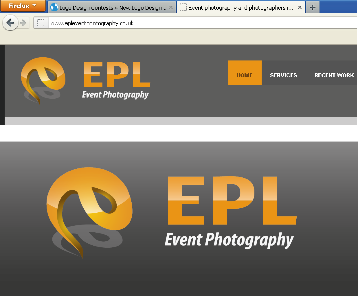 Logo Design by 354studio - Entry No. 32 in the Logo Design Contest New Logo Design for EPL Event Photography.